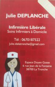 Julie DEPLANCHE - infirmier(e) à La tronche