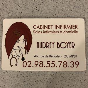 Audrey Boyer - infirmier(e) à Quimper