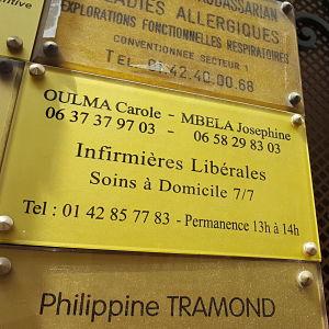 Josephine Mbela - infirmier(e) à Paris
